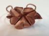 Copper fold formed primrose bracelet